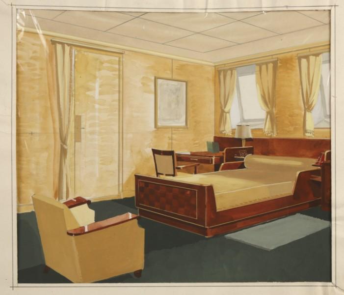 Vente aux ench res atelier goulet prestige ocean liner - 4 murs nantes ...